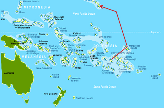 an geographical overview of truk island Music by carter larsen for national geographic truk lagoon, micronesia.
